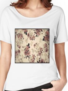 vintage floral 2  Women's Relaxed Fit T-Shirt