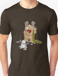 Ruudy with Snowman Unisex T-Shirt