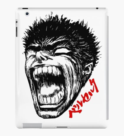 Head of Anime iPad Case/Skin