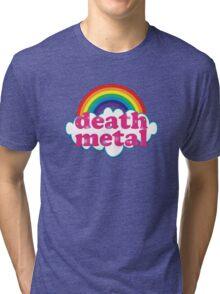 Death Metal Rainbow (Original) Tri-blend T-Shirt