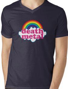 Death Metal Rainbow (Original) Mens V-Neck T-Shirt