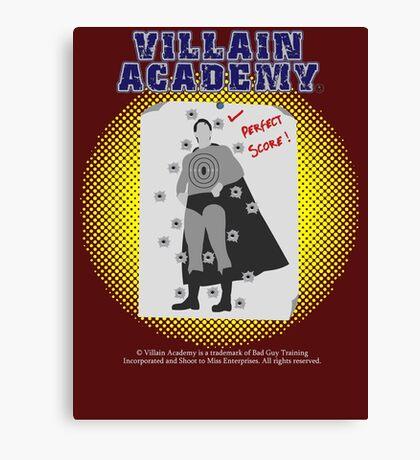 Villain Academy Canvas Print