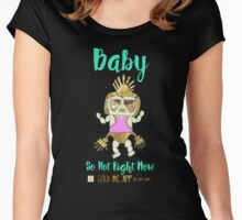 Baby - So Hot Right Now Women's Fitted Scoop T-Shirt