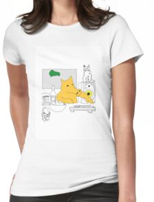 Home Quas by FRENZ Womens Fitted T-Shirt