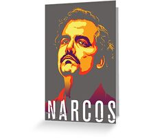 narcos poster Greeting Card