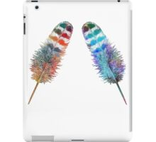 Two Feathers iPad Case/Skin