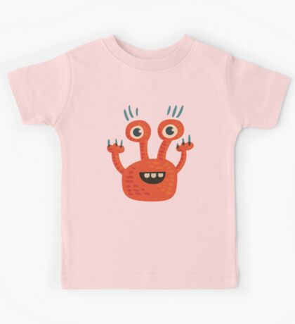 Funny Orange Creature Kids Clothes