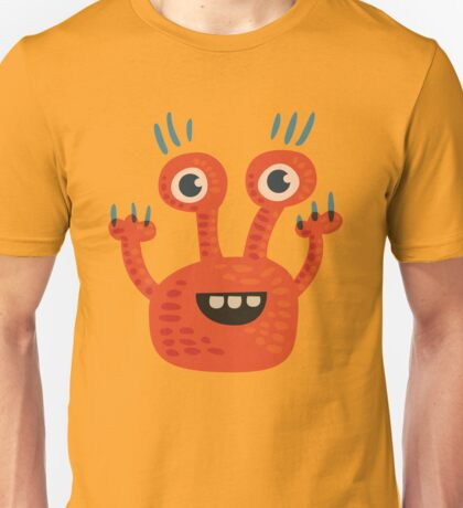 Funny Orange Creature Unisex T-Shirt