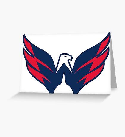 Washington Caps  Greeting Card