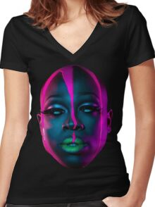 BOB THE DRAG QUEEN Women's Fitted V-Neck T-Shirt