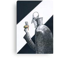 Nosferatu uses doughnuts when times are tough. Canvas Print