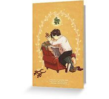 Boring Xmas and Dull New Year Greeting Card