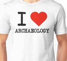 I Love Archaeology Unisex T-Shirt