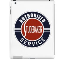 Authorized Studebaker Service vintage sign iPad Case/Skin