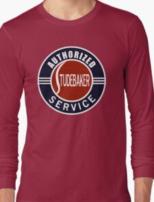 Authorized Studebaker Service vintage sign Long Sleeve T-Shirt