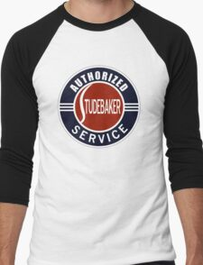 Authorized Studebaker Service vintage sign Men's Baseball ¾ T-Shirt