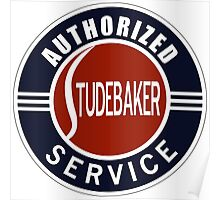 Authorized Studebaker Service vintage sign Poster