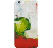 Vanishing Green Apple iPhone Case/Skin