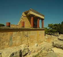 Knossos Palace  by Rob Hawkins