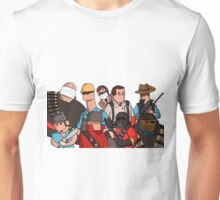 Team Fortress 2 - Cartoonified Team Design Unisex T-Shirt