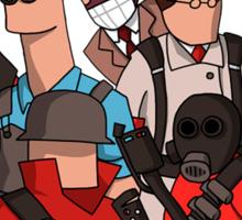 Team Fortress 2 - Cartoonified Team Design Sticker