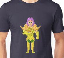 Aries Mū - Saint Seya Pixel Art Unisex T-Shirt