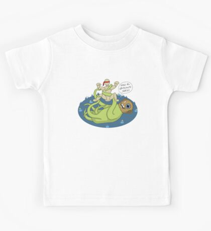 I dook you Bucky-bookoo Kids Tee