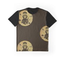 Acid Washed Octochimp Graphic T-Shirt