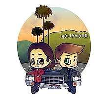 Winchesters in Burbank Photographic Print