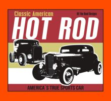 Hot Rod - Classic American Sports Car Kids Tee