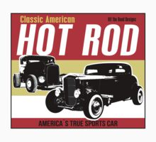 Hot Rod - Classic American Sports Car One Piece - Short Sleeve