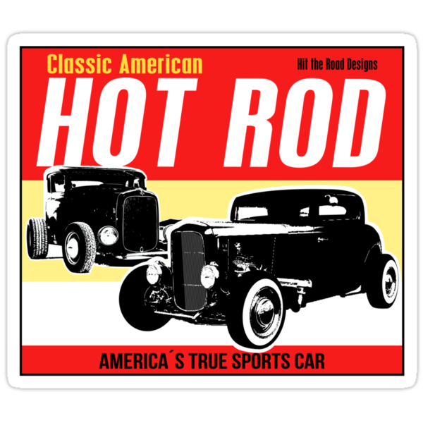 Hot Rod - Classic American Sports Car by htrdesigns
