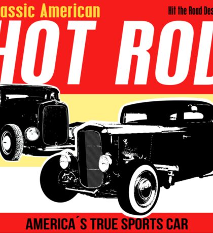 Hot Rod - Classic American Sports Car Sticker