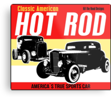 Hot Rod - Classic American Sports Car Metal Print