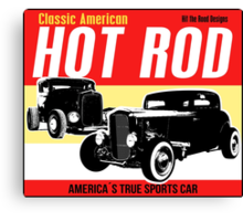 Hot Rod - Classic American Sports Car Canvas Print