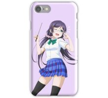 toujou nozomi - idol dress unidolized iPhone Case/Skin