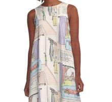 Alice's Winter Wonderland A-Line Dress