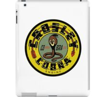 Crosley Cobra Engine vintage sign iPad Case/Skin