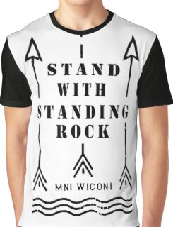 Music tshirt, Stand with standing rock Graphic T-Shirt