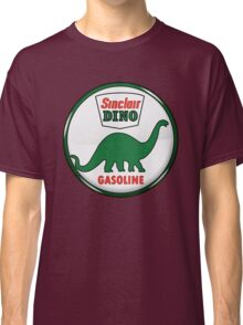 Sinclair Dino Gasoline vintage sign crystal vers. Classic T-Shirt