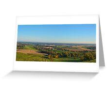 Valleys Of Balltown Greeting Card