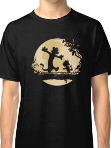 Cal-vin & Ho-bbes Halloween T-shirt Classic T-Shirt