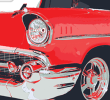 Chevy Bel Air 57 vector illustration Sticker