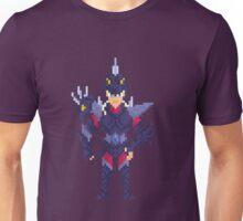 Dubhe Alpha Sigfried - Saint Seya Pixel Art Unisex T-Shirt
