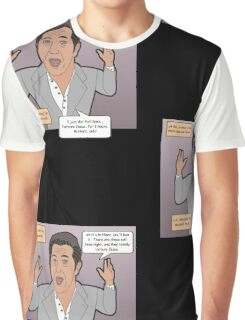 The Passion of the Mel Graphic T-Shirt