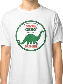 Sinclair Dino Gasoline vintage sign flat version Classic T-Shirt