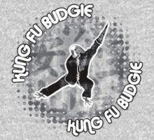 Budgie Style Kung Fu Kids Tee