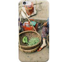 Vegetable Sellers Vietnam iPhone Case/Skin