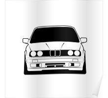 Young classic e30 Poster