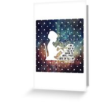 Jane Austen Writing Quote Greeting Card